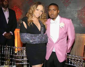 Mariah Carey posing with Nas in this Mk ultra pink azz jacket. Not naturally considered very manly but we must realize that we are in the middle of a BIG TIME dissexual agenda to encourage dysfunction and disorder in the dominating society.